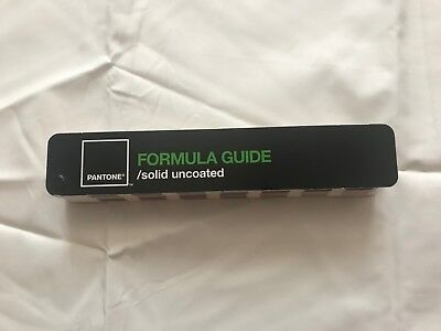 PANTONE Formula Guide Solid Uncoated Color Fan Book Fanbook 2006 Great Condition