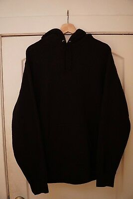 86876f5d9d04 Supreme Illegal Business Controls America Hoodie Black   Size Large  Worn
