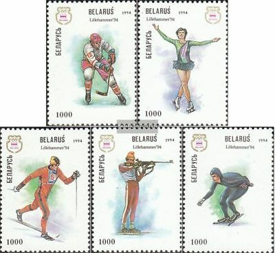 Weißrussland 64-68 (complete issue) fine used / cancelled 1994 Olympics Winter G