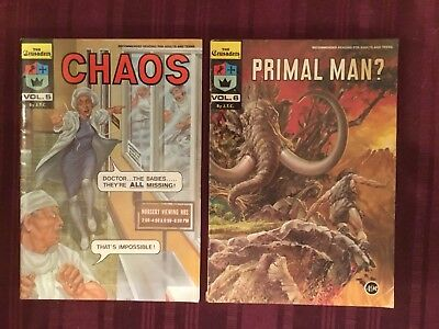 The Crusaders Comic Book Lot Christian Comics Primal Man And Chaos Jesus Christ