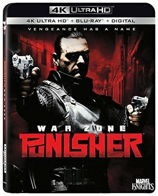 The Punisher - War Zone 4K Ultra HD/Blu-Ray/Digital HD with SLIPCOVER 2018