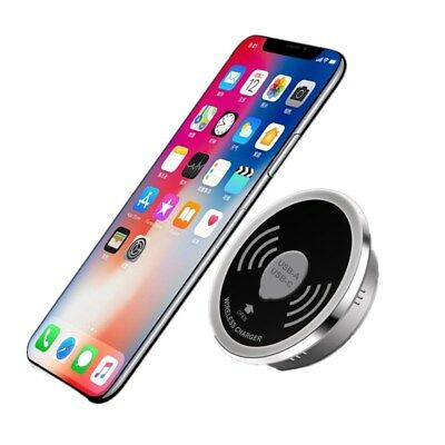 Qi Wireless Charger Built into Desk Embedded Wireless Charger For Ipohone X XS 8