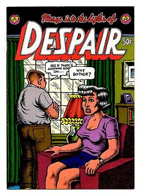 """Despair 1st Printing 1969 / Classic R. Crumb! """"Why Bother?"""" Indeed! / FN- 5.5"""