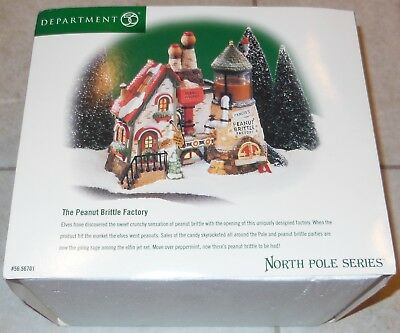 The Peanut Brittle Factory Department 56 In Box North Pole Series