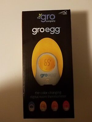 Groegg gro egg the color changing digital room thermometer - New NIB