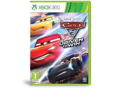 Xbox 360 Game Cars 3: Driven to Win New