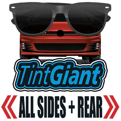 Tintgiant Precut All Sides + Rear Window Tint For Gmc Sierra 3500 Double 15-18