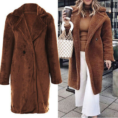 Chic Spring British Womens Lady Trench OL Long Parka Mid Clf Office Outercoat 3