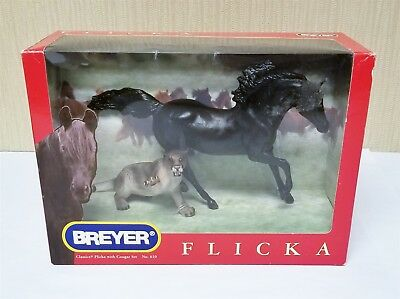 Mint In Box Breyer Classics #610 Flicka & Cougar Set