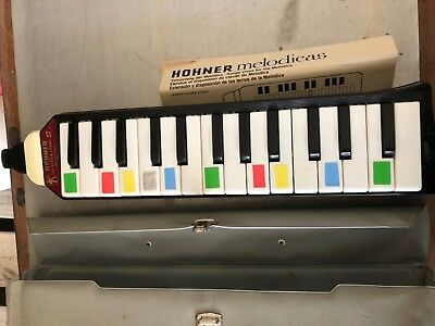 Hohner Melodica piano 27 orig Tasche Zubehör Made in Germany