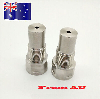1pc M18*1.5 Stainless Steel o2Oxygen Sensor EXTENSION Spacer Catalytic Converter