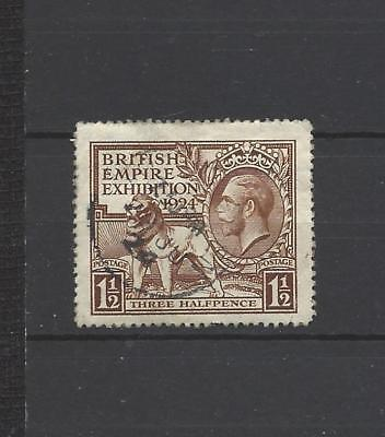 British stamps Kings old George 5th 1924 1.5d brown Brit empire exhibition SG431