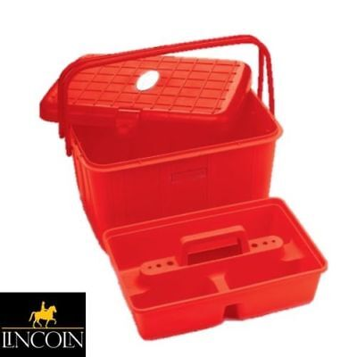 Grooming Perry Equestrian Mounting Step Up Tool Box 590mm x 490mm Tack