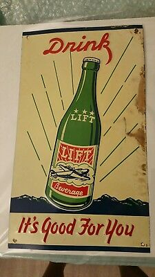 Vintage Lift Beverage Sign