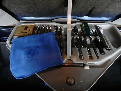 BMW blue cloth toolkit E3 E9 E10 E12 E21 E23 E24 E28 E30 E34