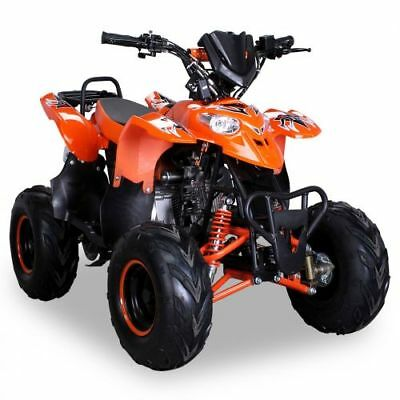 Quad 125cc S-5 orange Miniquad ATV Kinderquad Pocketquad Pocketbike Kinderquad
