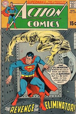 Action Comics #379 - VG+ 1969 + Legion of Super Heroes