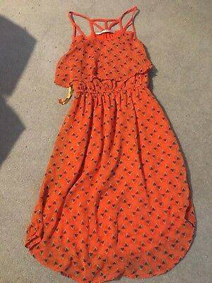 Carolina Williamson Silk Patterned Dress SzS