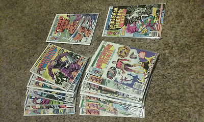 Machince Man 1-19. Marvel Two in One 93, 99. Marvel Comics. Jack Kirby & Ditko.