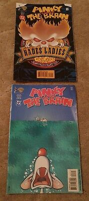 Pinky and the Brain comic books, set of 2