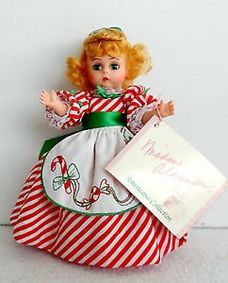 """Madame Alexander Doll 8"""" LIL CHRISTMAS CANDY 100348 NEW NRFB"""