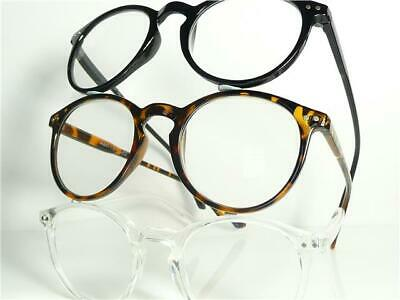 New Mens Womens Round Reading Glasses +1.00 1.25 1.5 1.75 2.0 2.5 2.75 3.0 R95
