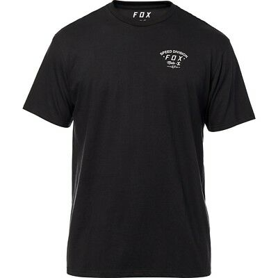 Fox Racing Seek and Destroy Mens Short Sleeve T-Shirt Black