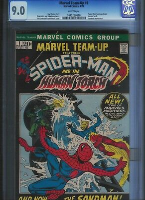 Marvel Team-up # 1 CGC 9.o  White Pages. UnRestored.
