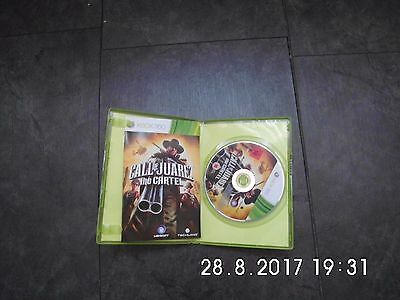 *XBOX 360 CALL OF JUAREZ the CARTELL