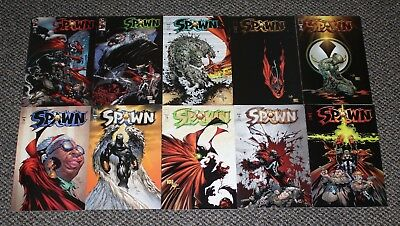 SPAWN Comic Book Issues 71 72 73 74 75 76 77 78 79 80 - IMAGE McFarlane LOT Set