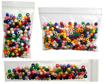 Bauxko Neo Reclosable Poly Bags, 2 Mil,  (Listing Group 2 of 9)