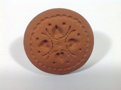 RYCRAFT 2 Round Cookie Stamp With Handle Recipe Booklet BEAR CLAW Rycraft Inc