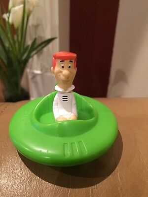 Vintage 1989 Hanna-Barbera George Jetson in Space Car Wendy's Kid's Meal