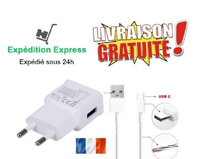 Chargeur Rapide Cable Type-C Pr Samsung Galaxy S8/s9/plus/note 8/9 A3/a5/a8 2017