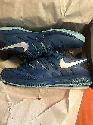 Nike Air Zoom Vapor X HC Federer Tennis Shoes Size 8.5 AA8030 300