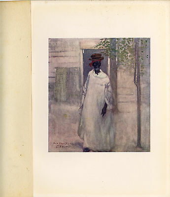 "A S FORREST PRINT 4.5 x 5 INCHES, WEST INDIES, ""An Old Man, St. Thomas"", ca.1900"