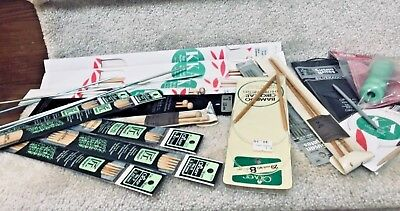 Large Lot Of Knitting Needles /Bamboo/straight/Circular PLUS Accessories