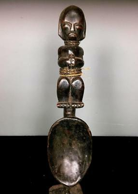 Outstanding  Tribal Fang Spoon Figure      ---  Gabon