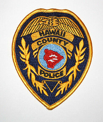 Path Police Hawaii County Old Style