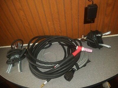 **NEW** TIG WP-17 Torch, 2 ground 10-25 welding cables & more!