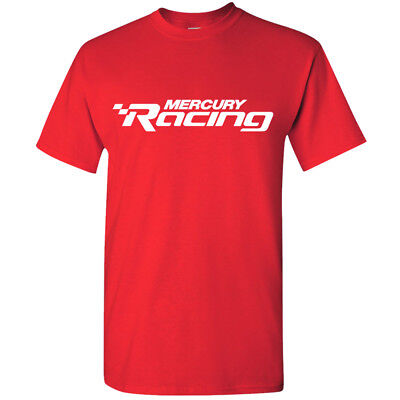 Mercury Racing Logo Tee - Red