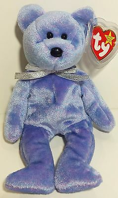 """TY Beanie Babies """"CLUBBY II (2)"""" BBOC Exclusive Teddy Bear - MWMTs! A MUST HAVE!"""