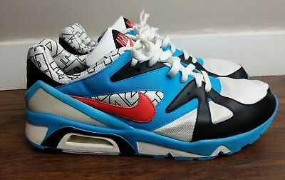 various colors 2c45f a5e8c Blanc Max Sunburst NIKE 91 Blue Triax AIR 12 Structure 2008 Size v8qxPZwv