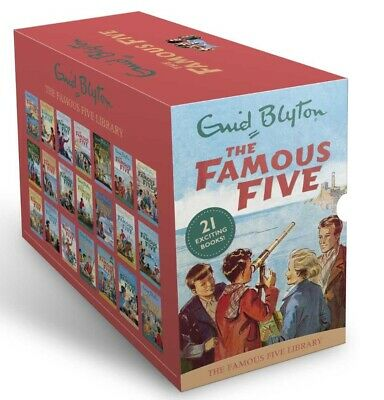 NEW Famous Five by Enid Blyton 21 Exciting Adventures Collection Books Library!