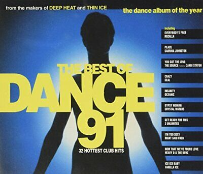 Various - The Best Of Dance 91 - Various CD R5VG The Cheap Fast Free Post The