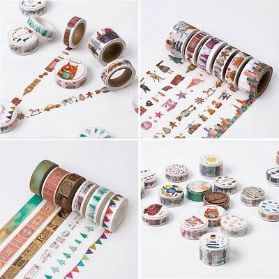 A Beautiful Day Decorative Washi Tape DIY Cartoon Scrapbooking Masking Tape