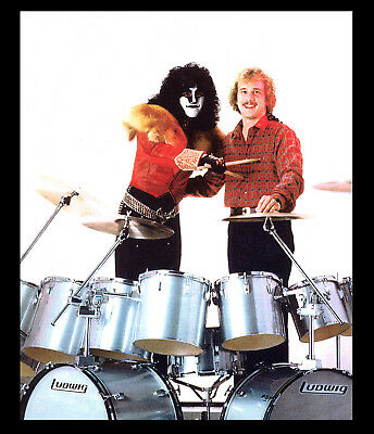 KISS, Never Released Eric Carr, PERSONALLY owned PHOTO, LUDWIG DRUMS, KISS!