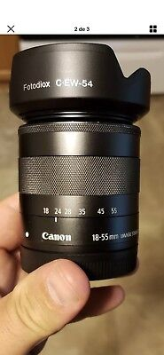 Canon EF-M 18-55mm f/3.5-5.6 STM IS Lens Great Condition!