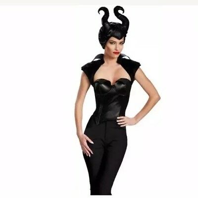 Maleficent Disney Maleficent Bustier Corset Adult Costume Halloween S 4 - 6 NEW!