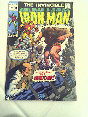 Iron Man  #24  F/VF